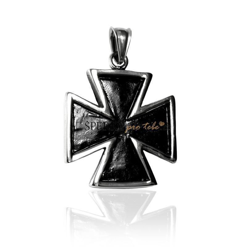 Přívěsek keltský kříž z chirurgické oceli S195080