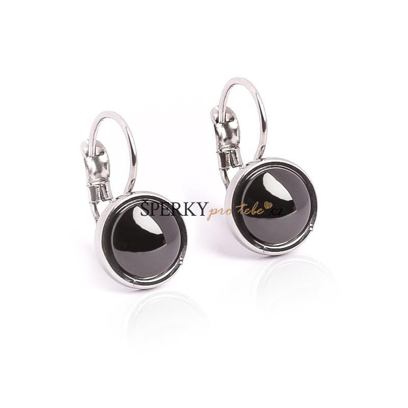 c00b01507 Náušnice keramické kruhy 1,4 cm BLACK&WHITE S701120   Šperkyprotebe ...