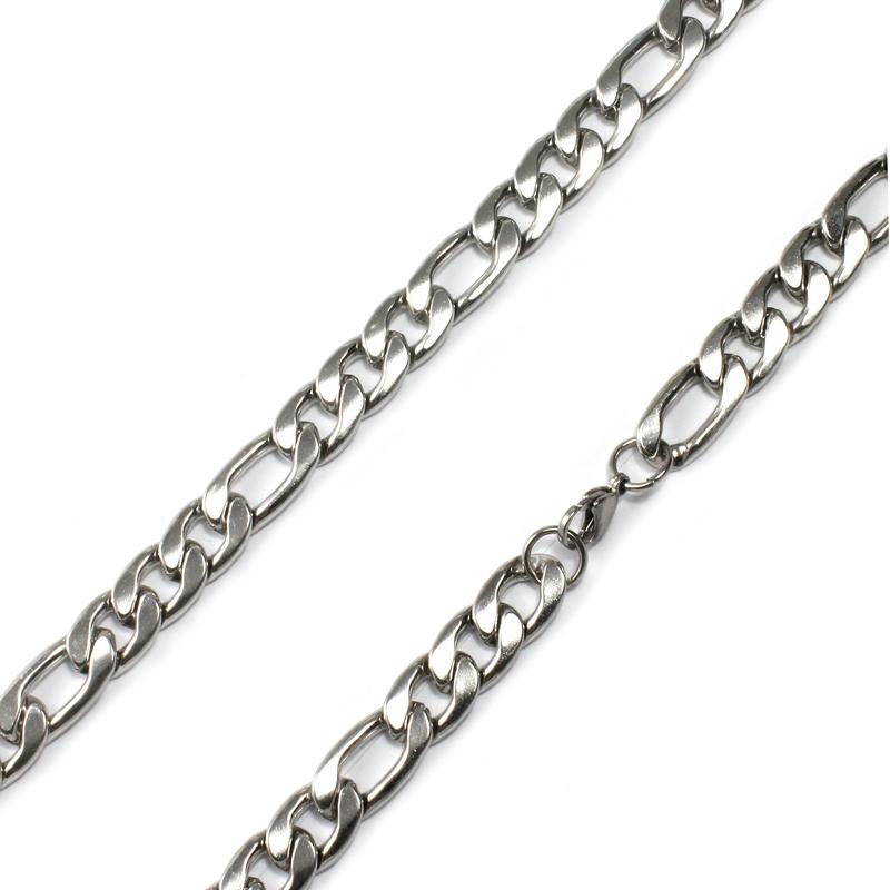 Masivní řetěz FIGARO z chirurgické oceli S100100
