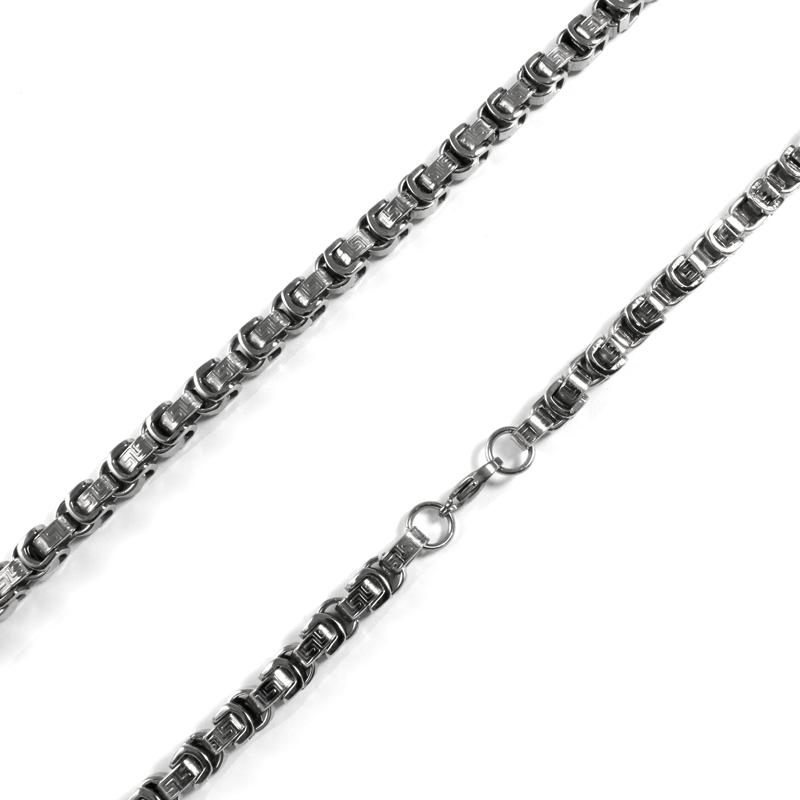 Pánský masivní řetěz z chirurgické oceli S113130