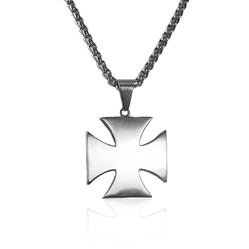 Náhrdelník keltský kříž z chirurgické oceli S217150