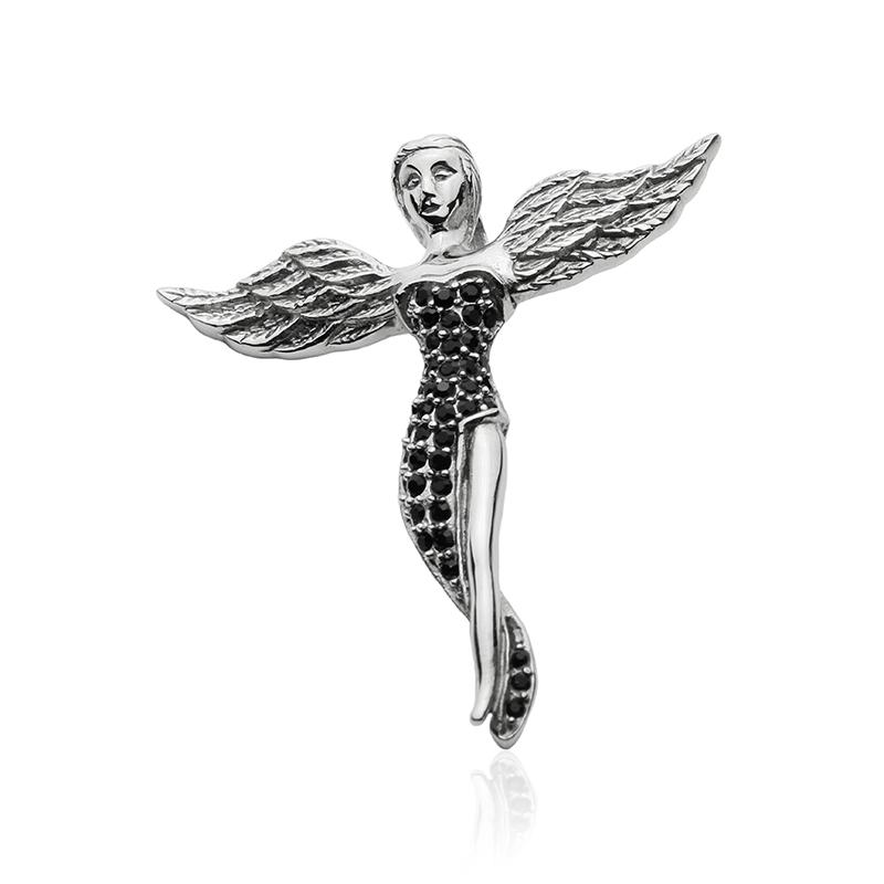 Přívěsek anděl z chirurgické oceli S306100