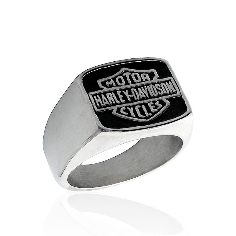 Pánský prsten HARLEY DAVIDSON z chirurgické oceli S522090