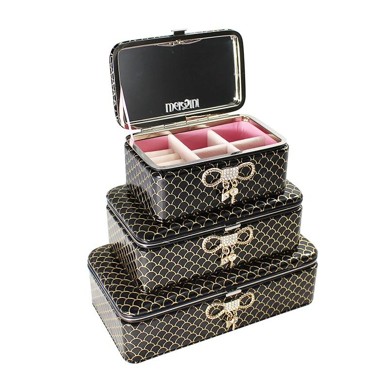 Šperkovinice BM Jewellery sada 3ks - BLACK
